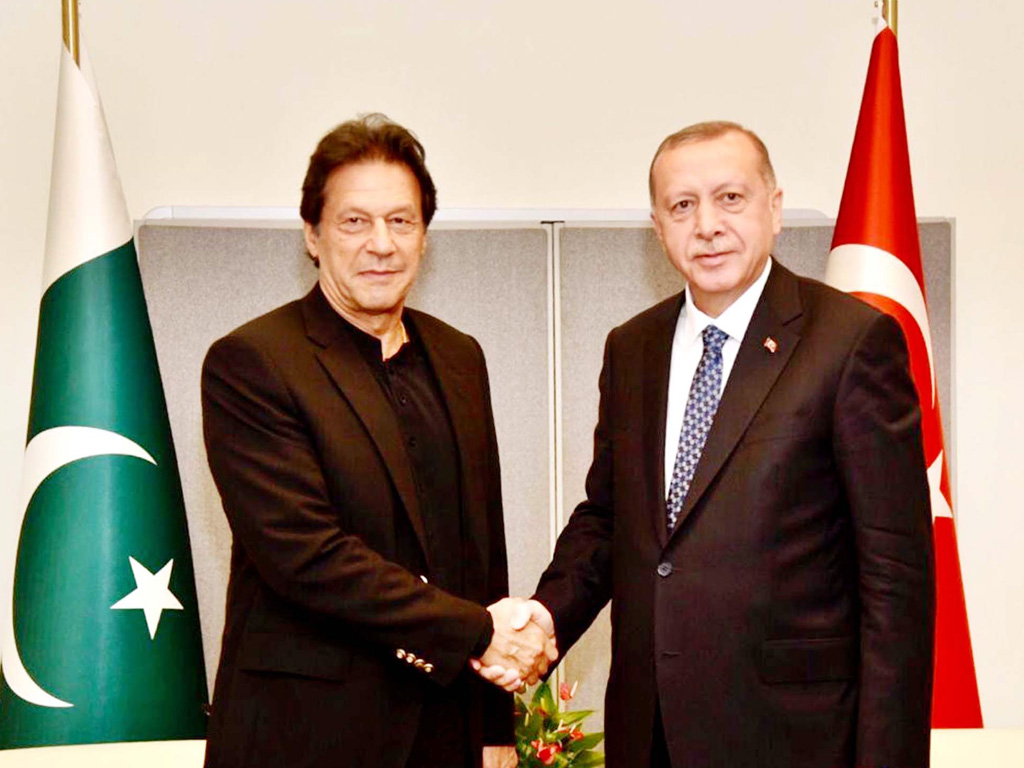 PM discusses bilateral ties, Kashmir issue with Turkish President -  Business Recorder