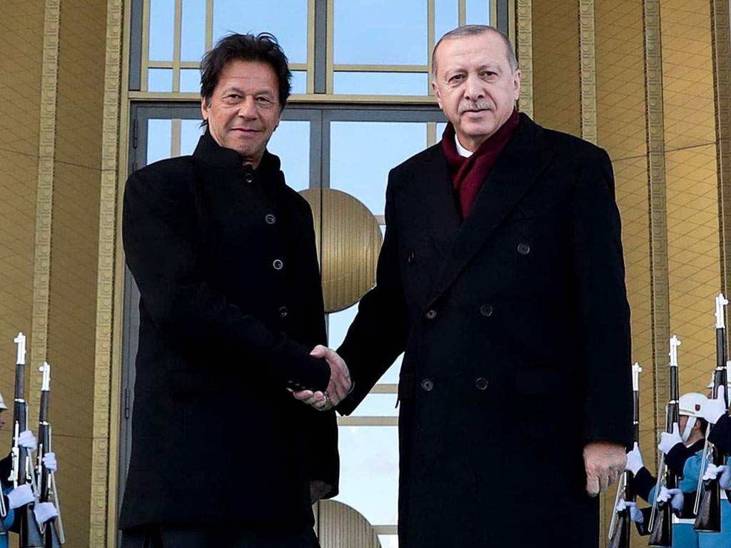 PM thanks Turkish president for his stance on Kashmir crisis at UN General  Assembly - Pakistan - Business Recorder