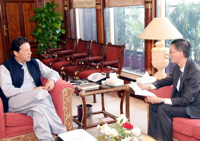 PM conveys gratitude to China for supporting Pakistan in helping contain COVID-19