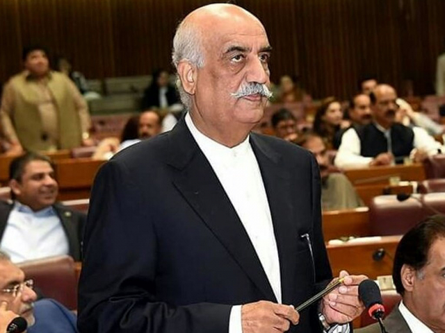 PPP's Khursheed Shah wants NAB to return his mobile phone taken away for forensic examination