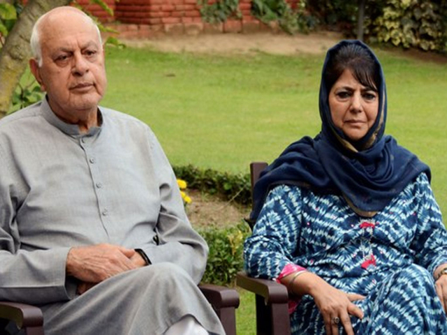India is releasing detained Kashmiri politicians only if they sign 'bonds'