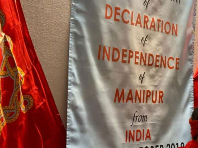 Indian State of Manipur announces independence from India