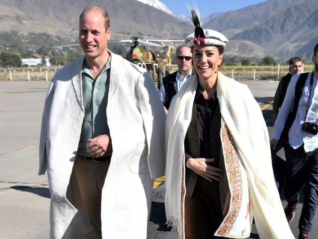 Royal tour: Duke, duchess arrive in Chitral