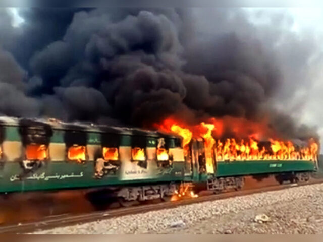 Death toll rises to 62 after train catches fire near Rahim Yar Khan