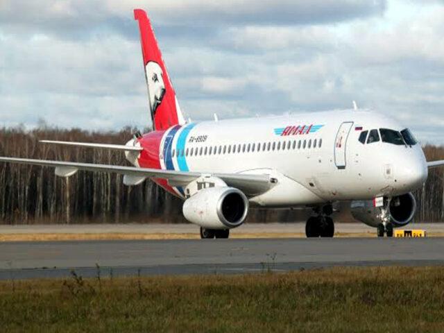 Russian Superjet lands safely in Siberia