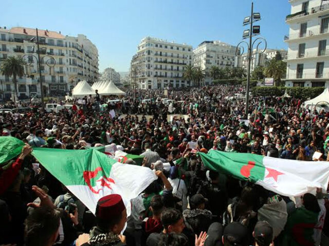 Algeria protesters call for 'new independence'