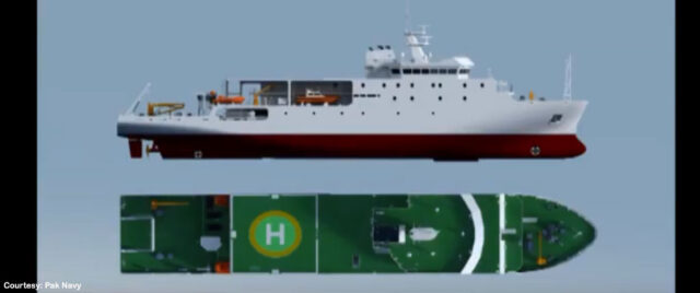 Pakistan's latest ship 'Behr Masah' to help find natural reserves in deep sea