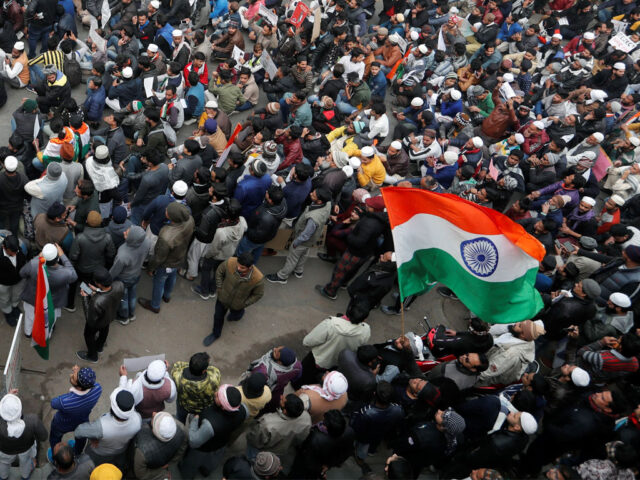Several detained in India as authorities suspend internet, metro services amid protest in 11 cities