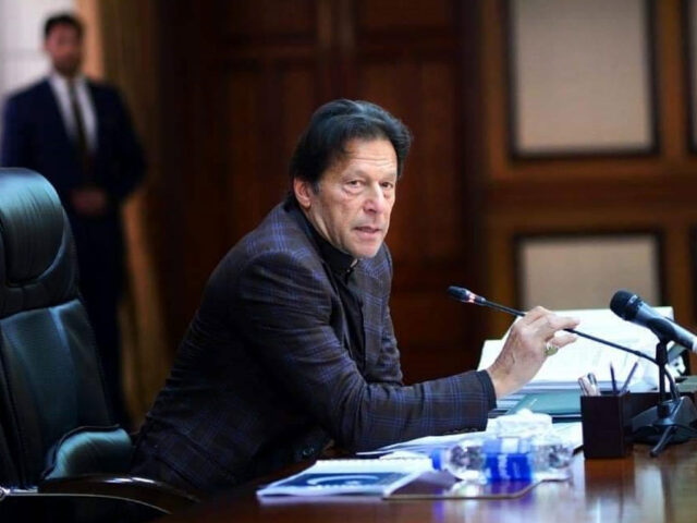 Imran Khan chairs media strategy meeting