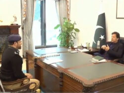 Sindh IG Kaleem Imam meets prime minister in Islamabad