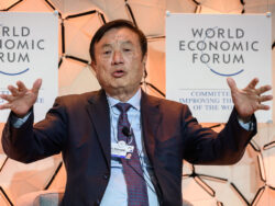 Huawei chief says US may 'escalate' but confident on business