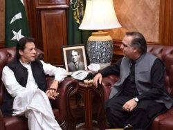 Prime Minister Imran Khan arrives in Karachi