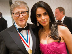 Mallika Sherawat talks about 'female empowerment' during her meeting with Bill Gates