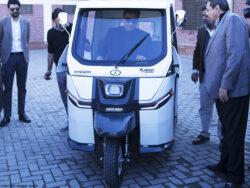 Electrifying transport: Pakistan unveils first electric rickshaw