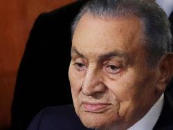 Former Egyptian president Hosni Mubarak passes away