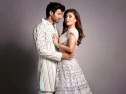 In pictures: Kartik Aaryan can't keep his eyes off Kareena Kapoor during their ramp walk