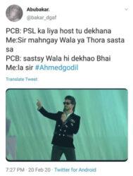 Don't be jealous, PSL host Ahmed Godil shuts up trollers