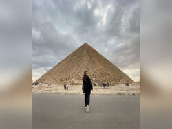Minal Khan explores Egypt with her best travel partner