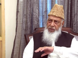 Former Karachi mayor Naimatullah Khan passes away