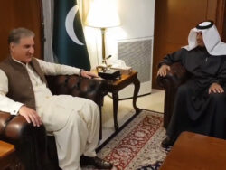 FM Qureshi invited to attend signing of US-Taliban peace deal in Qatar