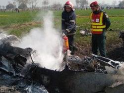 Pakistan Air Force plane crashes near Punjab's Shorkot city