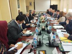 Wilbur visits Pakistan: Dawood urges US to use Pakistan as manufacturing hub
