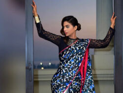 Sonya Hussain looks gorgeous in saree appearance