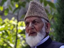 Watch: Ailing Hurriyat leader Syed Ali Geelani mumbles 'Pak Sarzameen', Islamic prayers