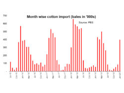 Raw cotton imports: what's going on?