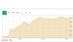 Bulls return to bourse, KSE-100 Index gains over 1,000 points
