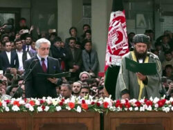 Ashraf Ghani, rival Abdullah Abdullah both take oath as Afghan presidents at same time