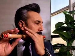 Adnan Siddiqui plays flute and fans are loving it