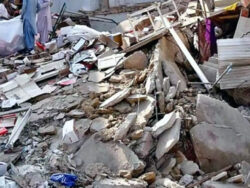 At least 10 dead after residential building collapses in Karachi's Gulbahar