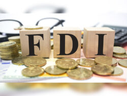 FDI growth overplayed and waning