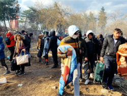 One die on border in Turkey after Greek security clashes with migrants