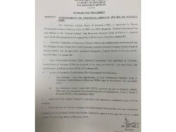 Nausheen Javaid appointed FBR Chairperson after Shabbar Zaidi's removal