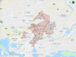 Are you affected? Google map of 11 Union Councils sealed in Karachi due to Coronavirus