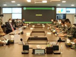 Chinese military medical team visit NCOC, lauds Pakistan's response towards coronavirus