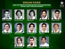 Wasim Akram choses Naseem Shah, Shaheen Afridi names the Ws in Dream Pairs series