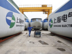 Shanghai Electric provides food supplies to needy Thar villagers