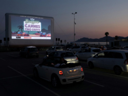 'We miss the movies': Cannes rolls out drive-in cinema with popcorn and face masks