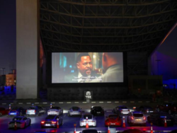 Dubai's new drive-in cinema features Porsches, popcorn and social distancing