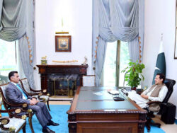 PM, DG ISI discuss national security matters